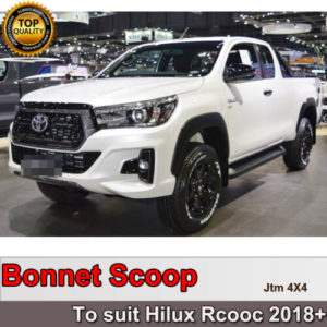 6 INCHES FENDER FLARES WHEEL ARCHES to suit Toyota Hilux Rocco 2018+