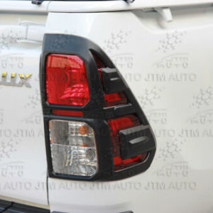MATT Black Tail Light Cover Protector Suitable For Toyota Hilux 2015-2019
