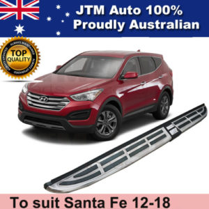 Aluminium Side Steps Running Boards to suit Hyundai Santa Fe 2012-2018