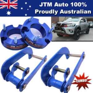 Lift Kit Strut Front Spacers + Rear G-Shackle to suit Toyota Hilux 2015-2019