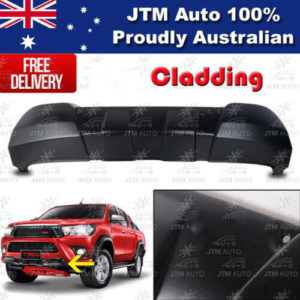 Front Bumper Cladding Guard suitable for Toyota Hilux 2015-2019
