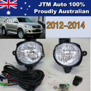 Premium Driving/Fog Lights Lamps Complete Kit to suit Toyota Hilux 2012-2014