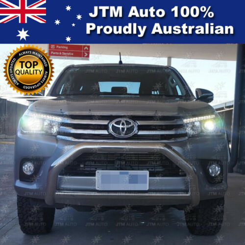 """Nudge Bar 3"""" Stainless Steel Grille Guard Suitable For Toyota Hilux 2015-2020"""