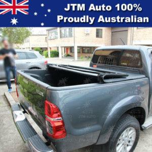 Tri-Fold Folding Tonneau Cover to suit Toyota Hilux Dual Cab A DECK 2005-2014