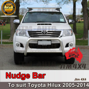 "Nudge Bar 3"" Stainless Steel Grille Guard Suitable For Toyota Hilux 2005-2015"