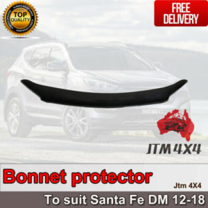 Bonnet Protector Guard to suit Hyundai Santa Fe DM 2012-2018