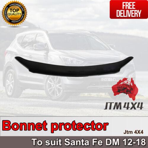 Bonnet Protector Guard to suit Hyundai Santa Fe DM 2012-2018