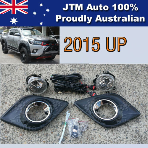 Driving/Fog Lights Lamps Complete Kits Suitable For Toyota Hilux 2015-2018