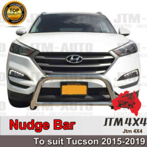 Nudge Bar Stainless Steel Grille Guard to suit Hyundai Tucson 2015+