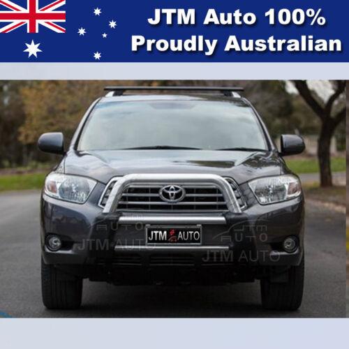 """Premium Nudge Bar 3"""" Aluminium Grille Guard Suitable For Toyota Kluger 2007-2010"""