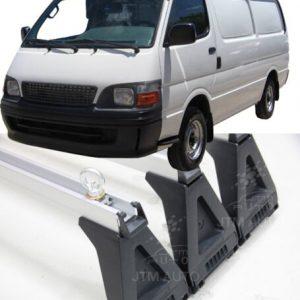 3 X Heavy Duty Adjustable Roof Racks Suitable For Toyota Hiace 1993-2004