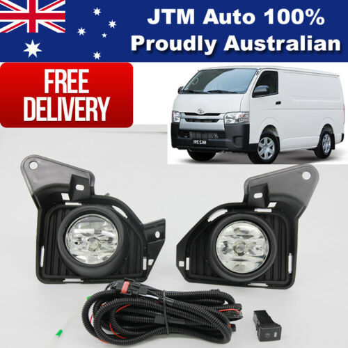 Driving/Fog Lights Lamps Complete Kits to suit Toyota Hiace 2014-ON