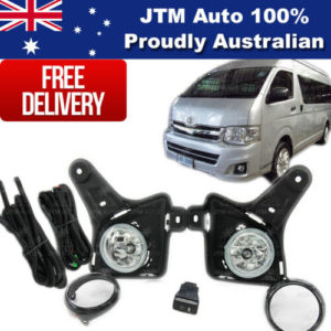 Driving/Fog Lights Lamps Complete Kits to suit Toyota Hiace 2011-2013
