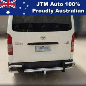 Rear Step Bumper TOWBAR Tow Bar OEM Suitable For Toyota Hiace LWB 2005-2019