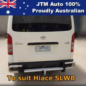 Rear Step Bumper TOWBAR Tow Bar OEM Suitable For Toyota Hiace SLWB OEM 2005-2019