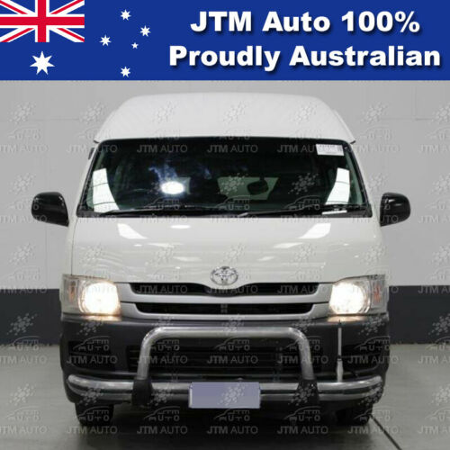 """Nudge Bar 3"""" Aluminium Grille Guard to suit Toyota Hiace 2005-2019 (SLWB ONLY)"""