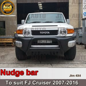 "Nudge Bar 3"" Black Grille Guard Suitable For Toyota Fj Cruiser 2007-2016"
