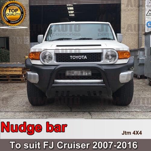 "Nudge Bar 3"" Black Grille Guard Suitable For Toyota Fj Cruiser 2007-2016"