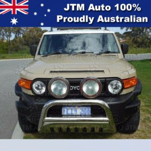 """Nudge Bar 3"""" Stainless Steel Grille Guard To Suit Toyota FJ Cruiser 2007-2016"""