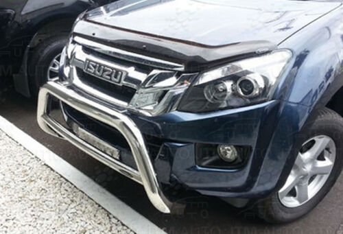 Isuzu D-Max DMAX Nudge Bar Stainless Steel Grille Guard 2012-2020