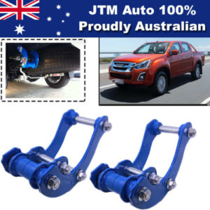 Rear Leaf Alloy Spring G Shackle Shackles to suit Isuzu D-max Dmax 2012-2019