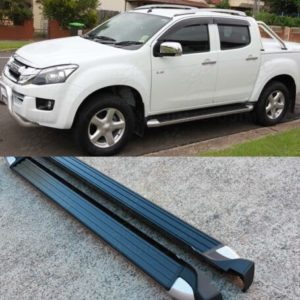Running Boards Side Steps to suit Isuzu D-max Dmax / Holden Colorado 2012-2020