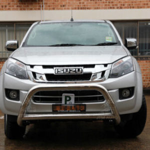 "To suit Isuzu D-Max DMAX Nudge Bar 3"" Stainless Steel Grille Guard 2012-2020"