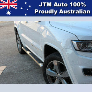 "Running Boards Side Steps 4"" Stainless Steel suit Jeep Grand Cherokee 2011-2020"