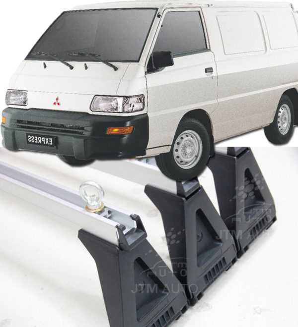 3 X HEAVY DUTY ADJUSTABLE ROOF RACKS Suits MITSUBISHI EXPRESS 1981-2013