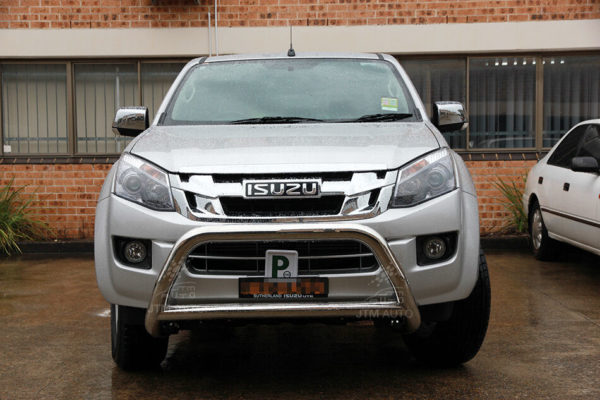 """To suit Isuzu D-Max DMAX Nudge Bar 3"""" Stainless Steel Grille Guard 2012-2020"""