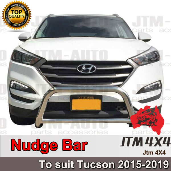 Nudge Bar Stainless Steel Grille Guard to suit Hyundai Tucson 2015-2021