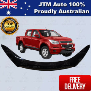 Bonnet Protector Black Guard to suit Holden Colorado 2012-2016