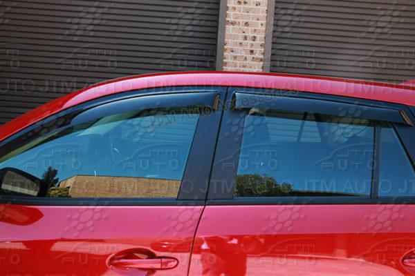 Bonnet Protector + Window Visor Weather shields to suit Mazda CX5 CX-5 2012-2016
