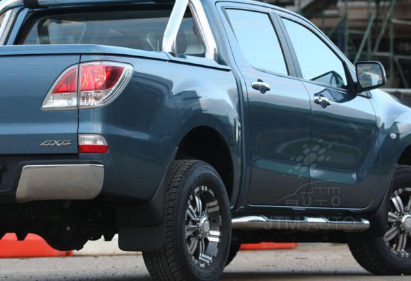 "Running Boards Side Steps 3"" Stainless Steel to suit Mazda BT50 BT-50 2012-2020"