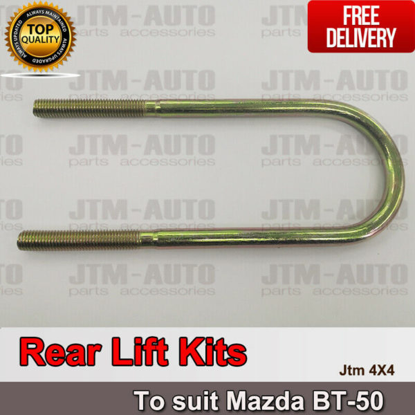 "2"" Front + Rear Suspension Block Spacer Lift Kit for Mazda BT-50 BT50 2012-2018"
