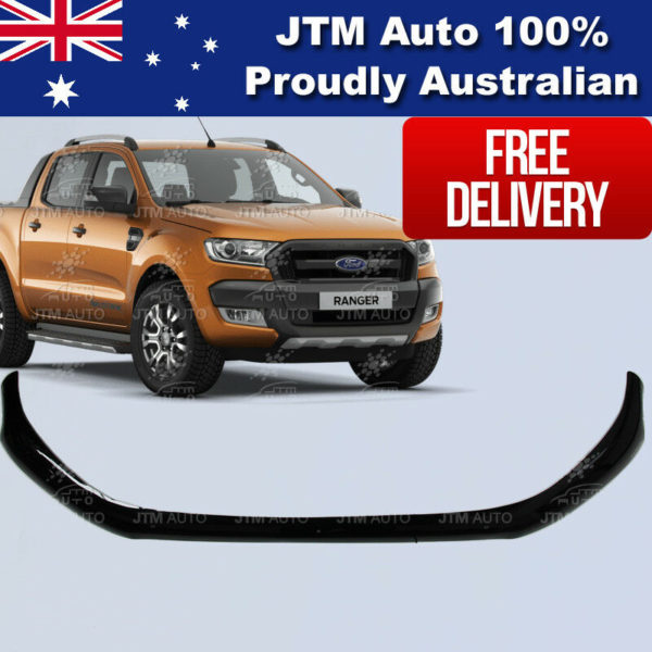 Bonnet Protector Black Guard to suit Ford Ranger PX2 MKII OEM 2015-2018