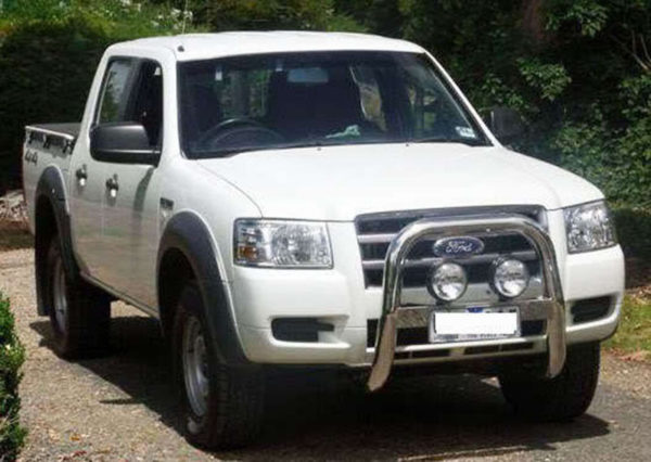 """Nudge Bar 3"""" Stainless Steel To suit Ford Ranger PJ 2006-2009 PK 2009-2011"""