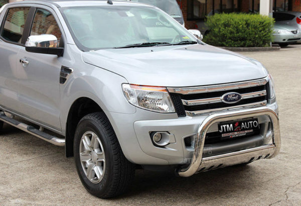 """Nudge Bar 3"""" Stainless Steel Grille Guard to suit Ford Ranger 2012 - 2018"""
