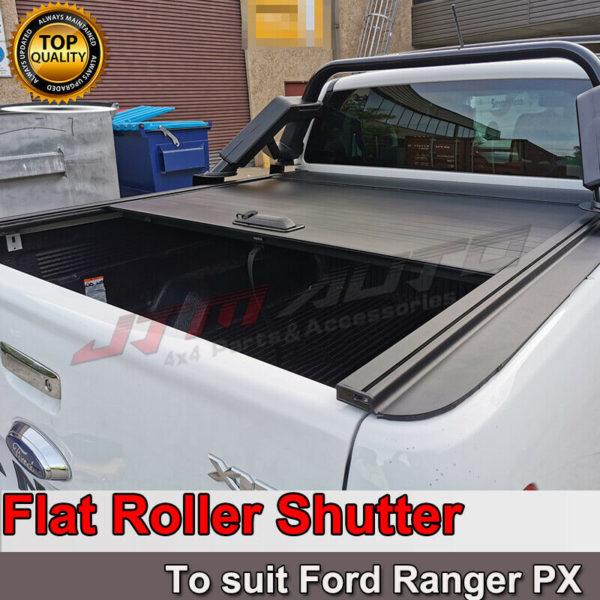 Flat Roller Shutter Tonneau Hard Lip to suit Ford Ranger PX XLT XLS 2011-2020