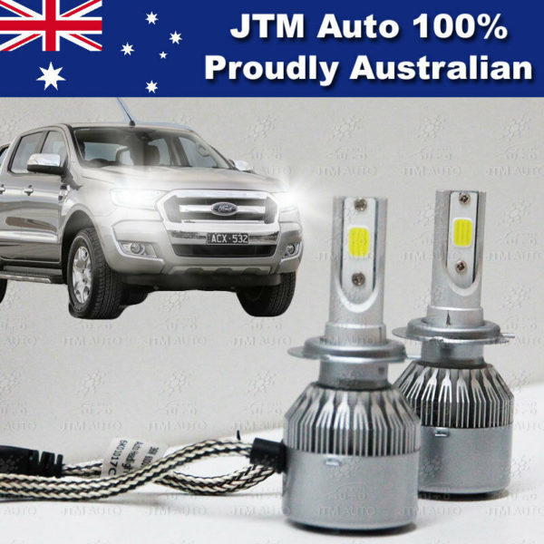LOW BEAM LED CONVERSION KIT to suit FORD RANGER MK2 (2015+) XLT FX4 Or Wildtrak