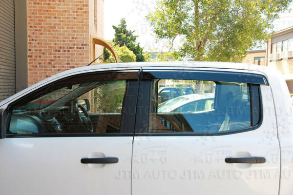 Bonnet Protector + Window Visors Weather shields to suit Ford Ranger 2015-2018