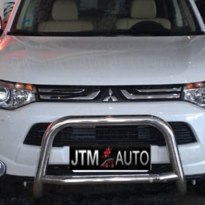 Nudge Bar Stainless Steel Grille Guard For Mitsubishi Outlander ZJ ZK 2013-2020