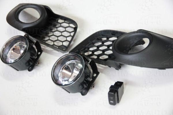 Driving/ Fog Lights Lamps Complete Kit suitable for Mitsubishi Lancer 2013-2016