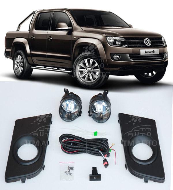 Suits VOLKSWAGEN VW Amarok 2011-2017 Driving/ Fog Lights Lamps Complete Kit