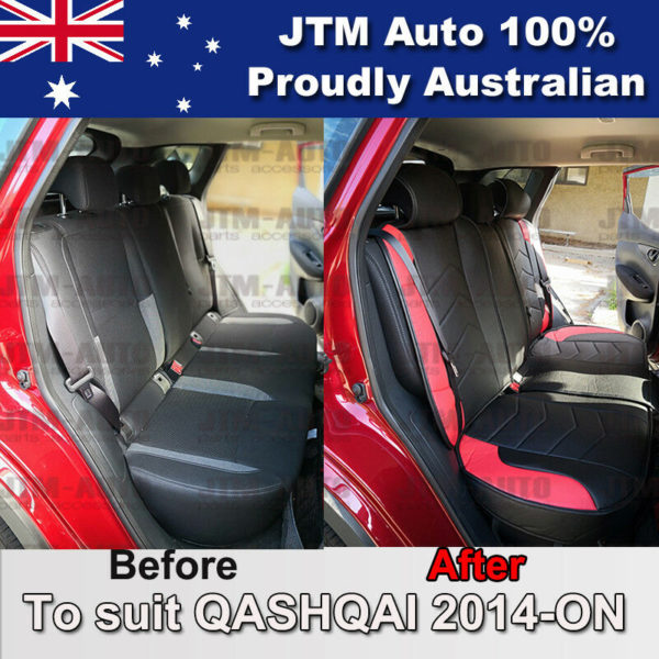 PREMIUM PU leather Waterproof Seat Covers to suit Nissan QASHQAI 2014-ON