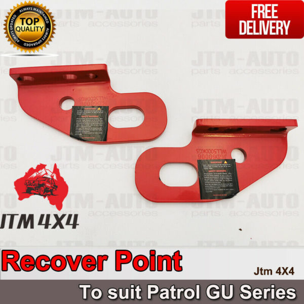 Recovery Tow Point Kit 5 Tonne Hitch for Nissan Patrol GU Series 2 3 4 5