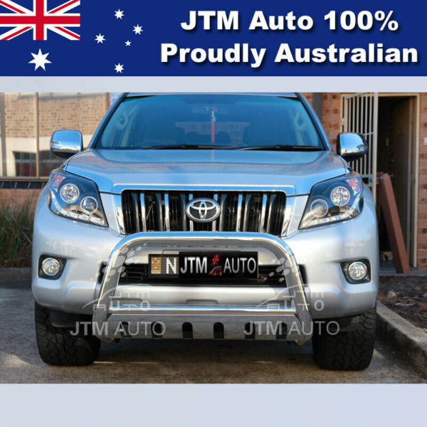 """Nudge Bar 3"""" Stainless Steel Grille Guard to suit Toyota Prado 150 2009-2021"""