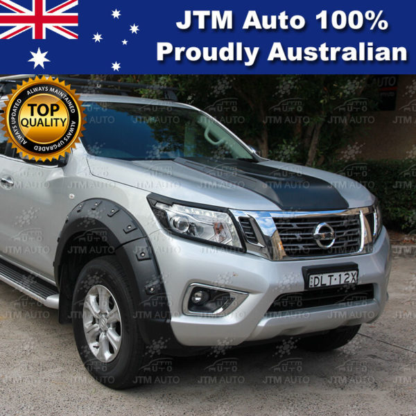 Front Wheel Fender Flares Wheel Arch to suit Nissan Navara NP300 2014-2020