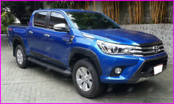 6 INCHES FENDER FLARES WHEEL ARCHES to suit Toyota Hilux 2015-2018 OEM 6pcs