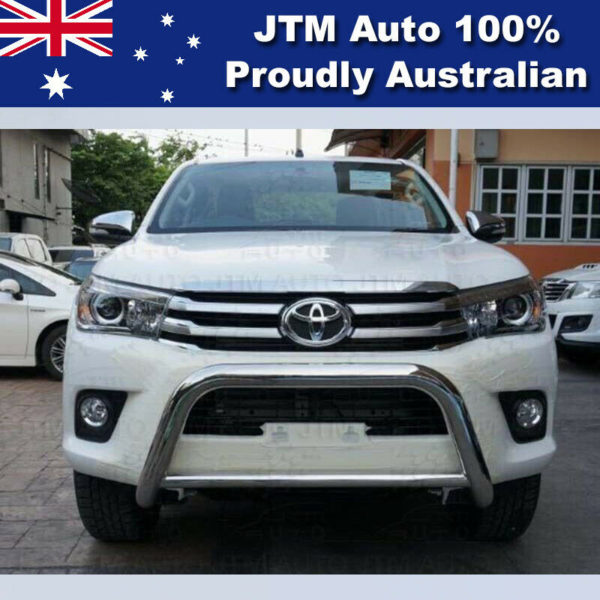 """Nudge Bar 3"""" Stainless Steel Grille Guard to suit Toyota Hilux 2015-2020"""